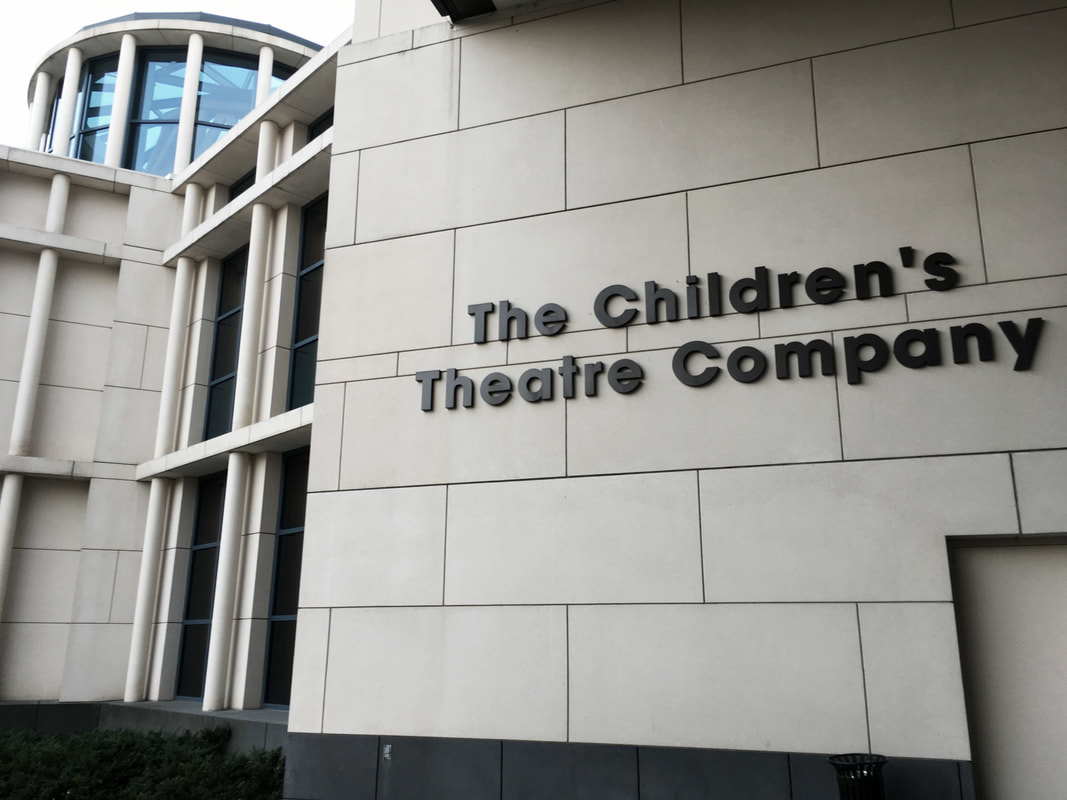 Pictured: Outside of the Children's Theatre Company building